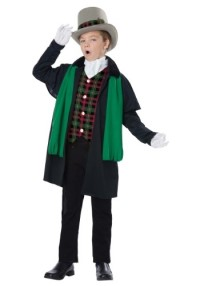 Holiday Christmas Caroler Costume for Kids