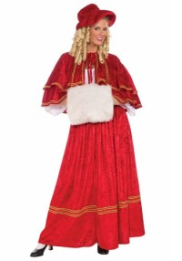Christmas Caroler Costume for Adults