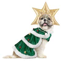 Christmas Pet Costume - Christmas Tree Costume for Dogs