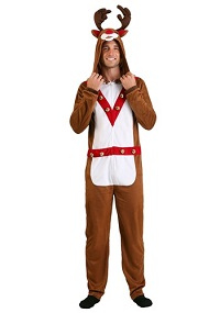 Christmas Adult Reindeer Costume