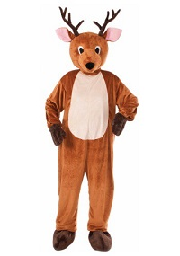 Christmas Adult Reindeer Mascot Costume