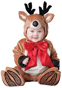 Christmas Baby Reindeer Costume