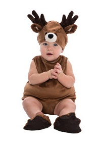 Christmas Reindeer Costume for Toddlers