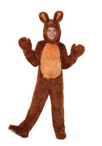 Brown Easter Bunny Costumes for Kids
