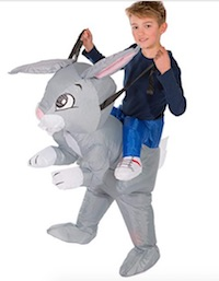 Inflatable Easter Bunny Costume