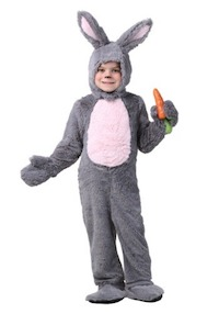 Toddler Grey Easter Bunny Costume