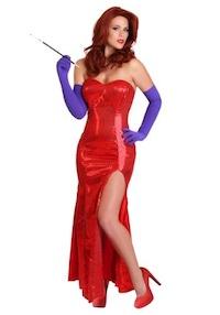 Heidi Klum Sexy Jessica Rabbit Costume