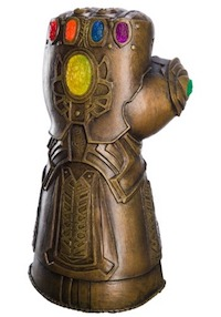 Marvel Infinity War Adult Thanos Costume Gauntlet