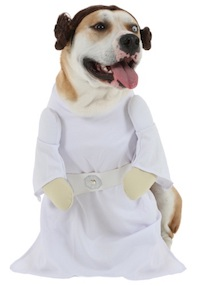 Star Wars Pet Costume Princess Leia