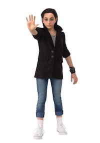 Stranger Things Punk Eleven Kids Costume