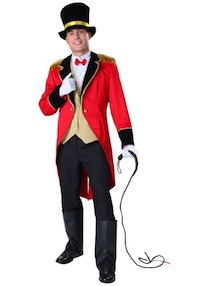 Lily Rose Depp Circus Ringmaster Costume for Adults