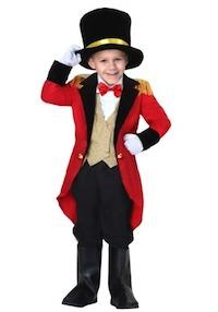 Lily Rose Depp Circus Ringmaster Costume for Kids