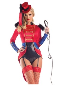 Lily Rose Depp Adult Circus Ringmaster Costume