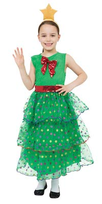 Best Christmas Tree Costume for Kids
