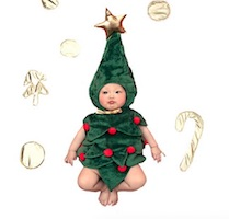 Best Christmas Tree Costume for Babies
