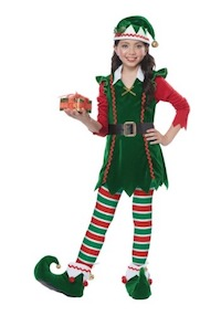 Festive Elf Costume for Kids