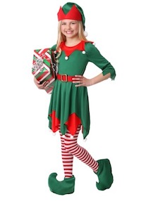 Festive Elf Costume - Santa's Helper