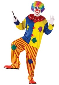 Big Top Clown Costume for Adults
