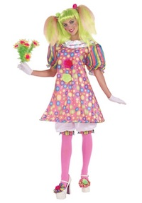 Tickles Clown Costume for Adults
