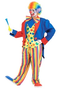 Circus Clown Costume for Adults