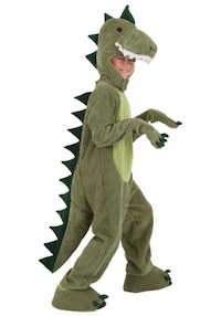 Jurassic Park T-Rex Costume for Kids