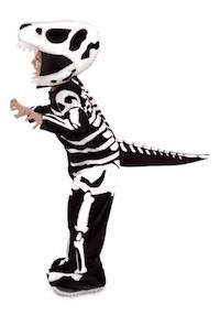 Jurassic Park Fossil T-Rex Dinosaur Child Costume