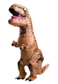 Jurassic Park Inflatable T-Rex Dinosaur Costume