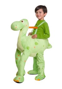 Jurassic Park Green Dino Costume for Kids