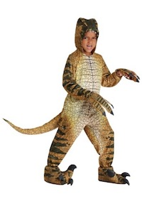 Jurassic Park Velociraptor Costume for Kids