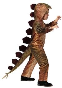 Jurassic Park Stegosaurus Dinosaur Costume for Kids