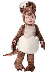 Jurassic Park Child Triceratops Dinosaur Costume