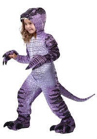Jurassic Park Ravenous Raptor Dinosaur Costume for Kids