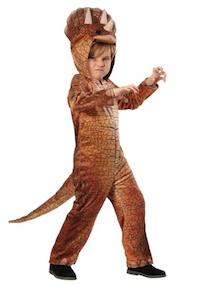 Jurassic Park Triceratops Dinosaur Children Costume