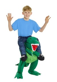 Jurassic Park Piggy Back T-Rex Dinosaur Costume for Kids