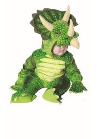 Jurassic Park Triceratops Dinosaur Kids Costume