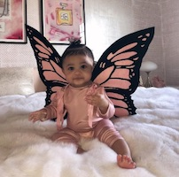 Stormi Webster Butterfly Costume