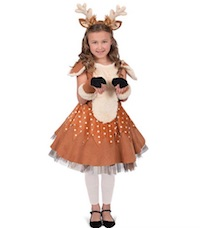 Cute Christmas Reindeer Costume for Kids