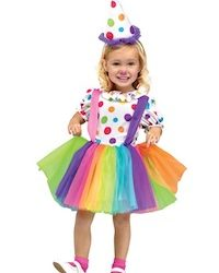Circus Kids Clown Costumes