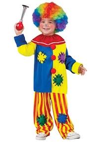 Circus Kids Clown Costumes Top Clown