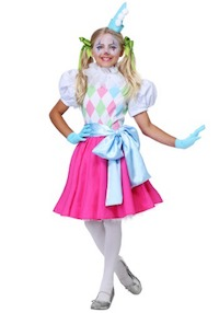 Circus Kids Clown Costumes for Girls