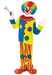 Circus Kids Clown Costumes