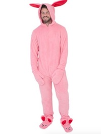 Easter Bunny Union Suit Costume