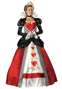 Kim Kardashian Queen of Hearts Costume