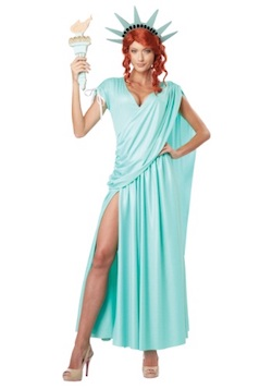 Statue of Liberty Costume 4th of July America