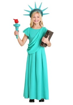 Statue of Liberty Costume for Fourth of July