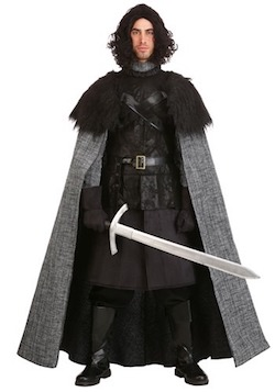 Game of Thrones Jon Snow King of the North Season 8 Costume