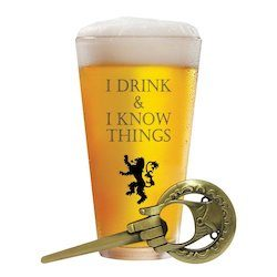 Game of Thrones Goblets, Coasters and Party Sets