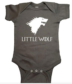 Game of Thrones Baby Onesies