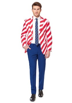 Independence Day Costume for Adults Uncle Sam