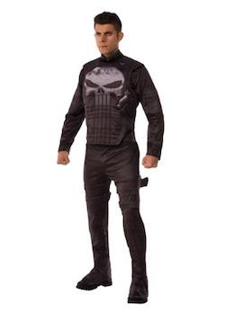 Frank Castle Marvel Punisher Costume for Adults